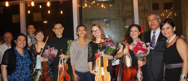 Cónsul General de Colombia en Hong Kong asistió al concierto 'Music for Mexico & Puerto Rico' para ayudar a los afectados por desastres naturales